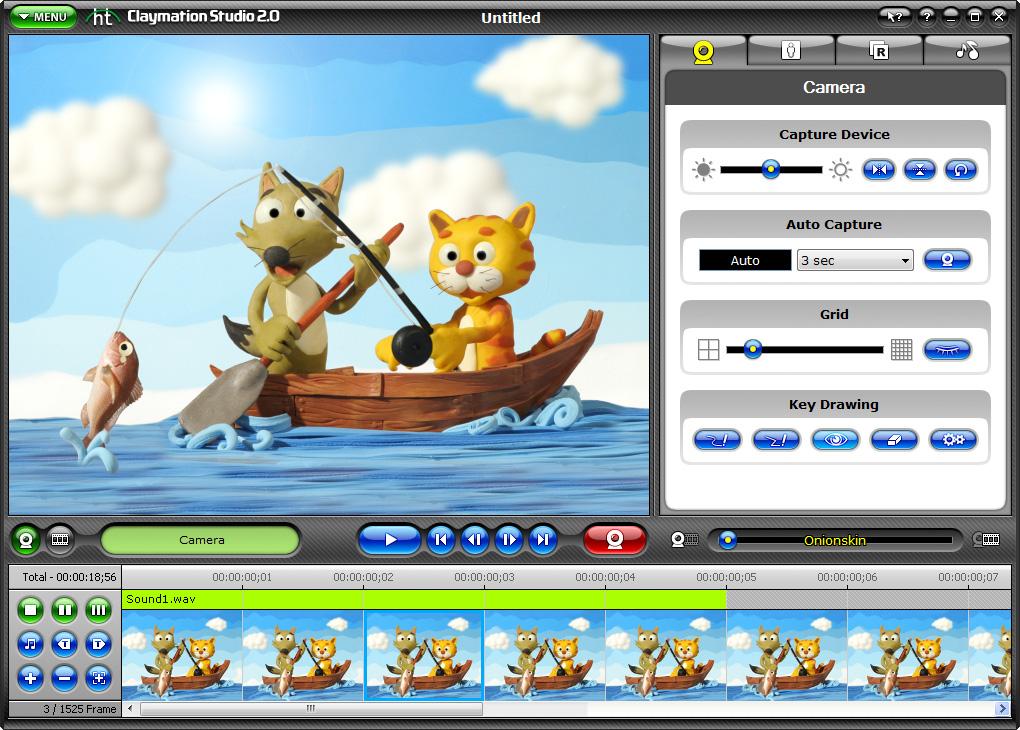 Компьютерная мультипликация картинки